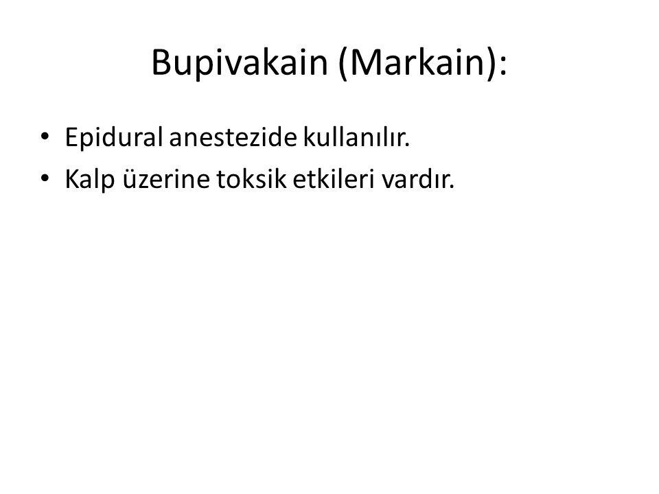 Bupivakain (Markain):