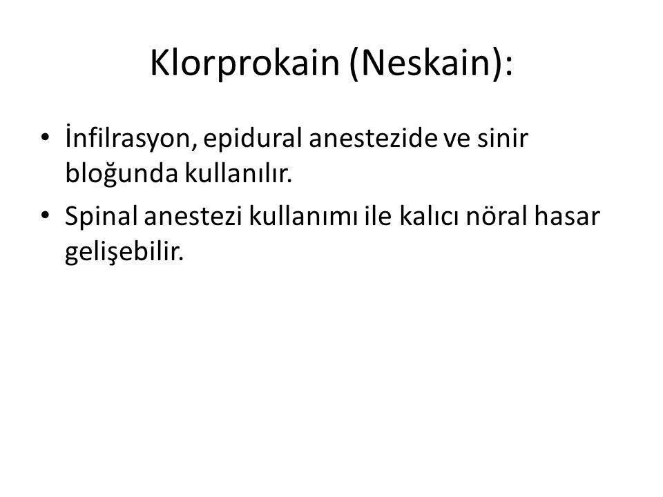Klorprokain (Neskain):