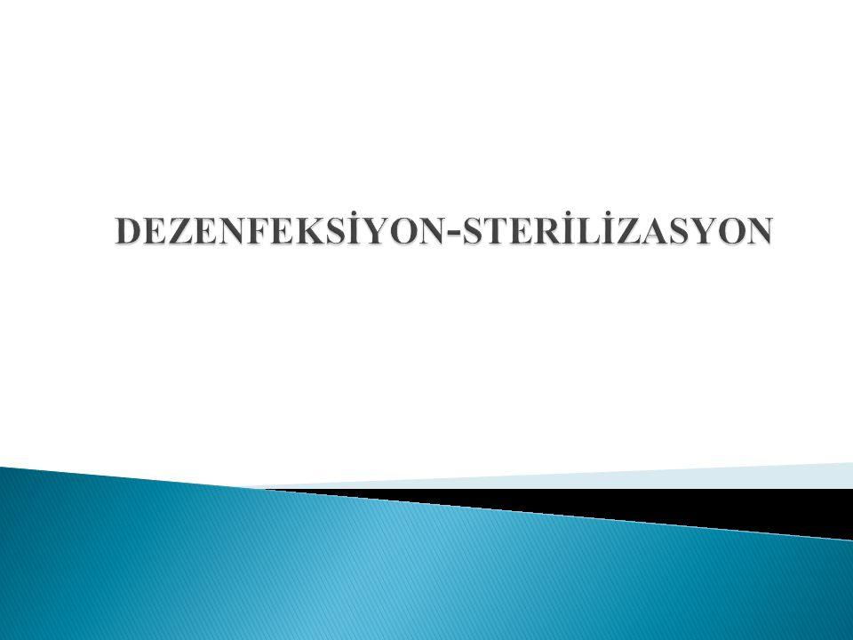 dezenfeksİyon-sterİlİzasyon
