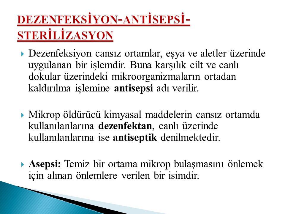 dezenfeksİyon-antİsepsİ-sterİlİzasyon