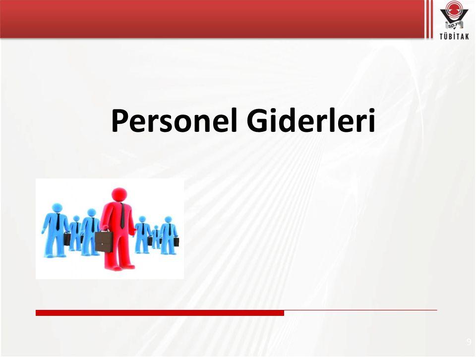 Personel Giderleri 9