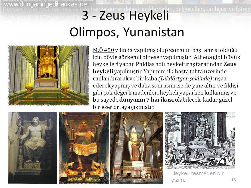 3 - Zeus Heykeli Olimpos, Yunanistan