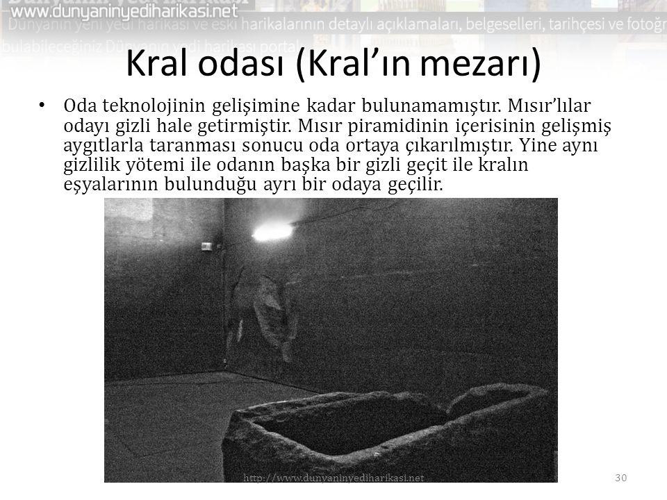Kral odası (Kral'ın mezarı)