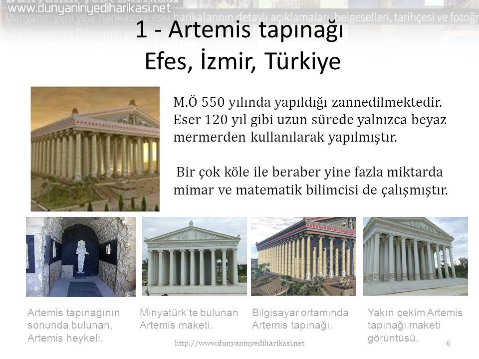 1 - Artemis tapınağı Efes, İzmir, Türkiye