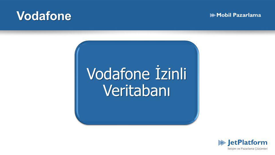 Vodafone İzinli Veritabanı