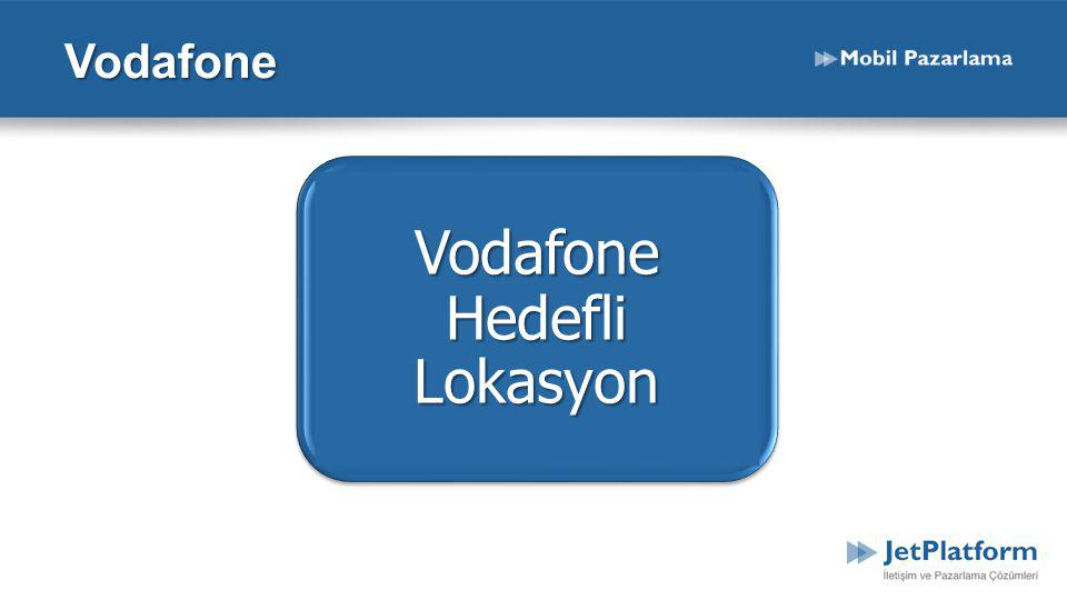 Vodafone Hedefli Lokasyon