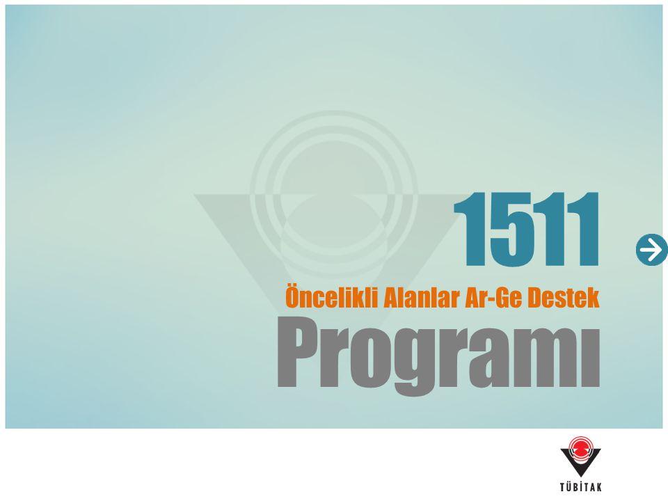 1511 Öncelikli Alanlar Ar-Ge Destek Programı