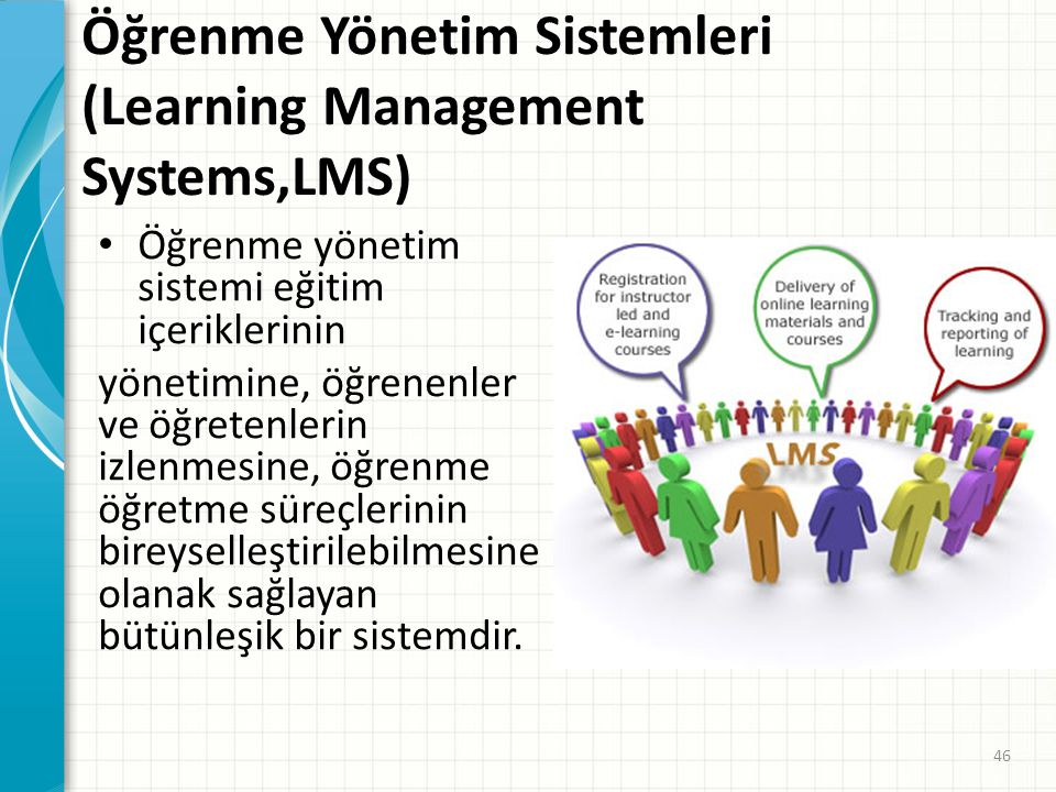 Öğrenme Yönetim Sistemleri (Learning Management Systems,LMS)