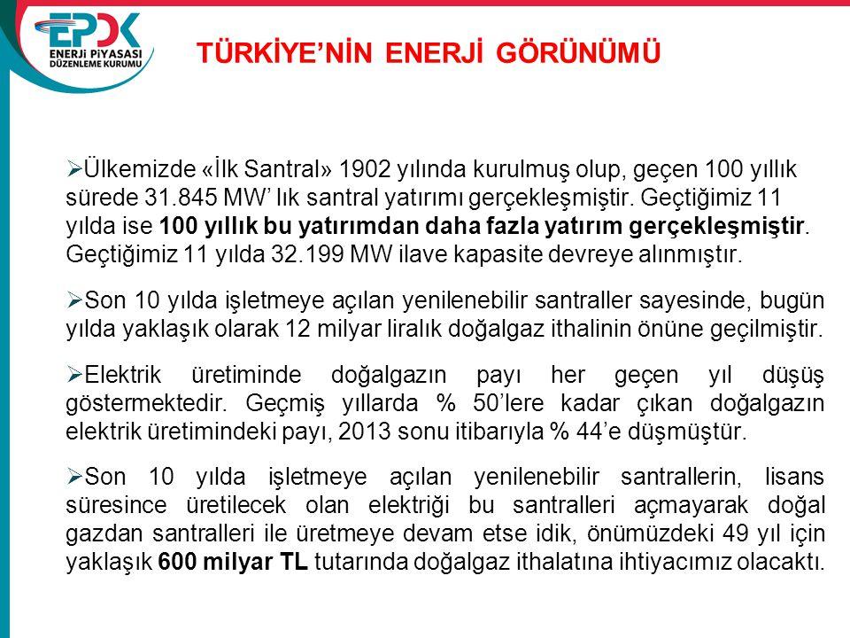 Türkİye'nİn Enerjİ görünümü