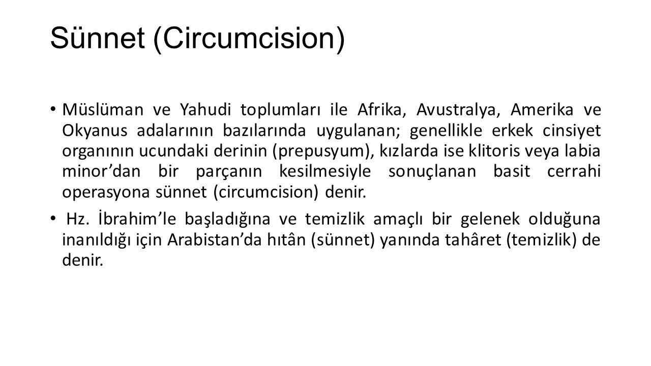 Sünnet (Circumcision)