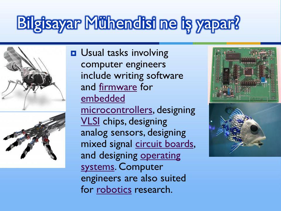 Bilgisayar Mühendisi ne iş yapar