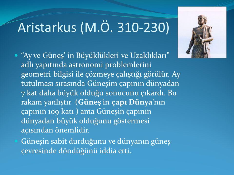 Aristarkus (M.Ö. 310-230)