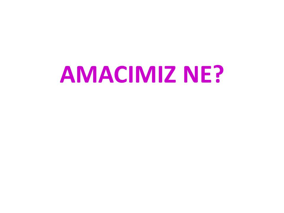 AMACIMIZ NE