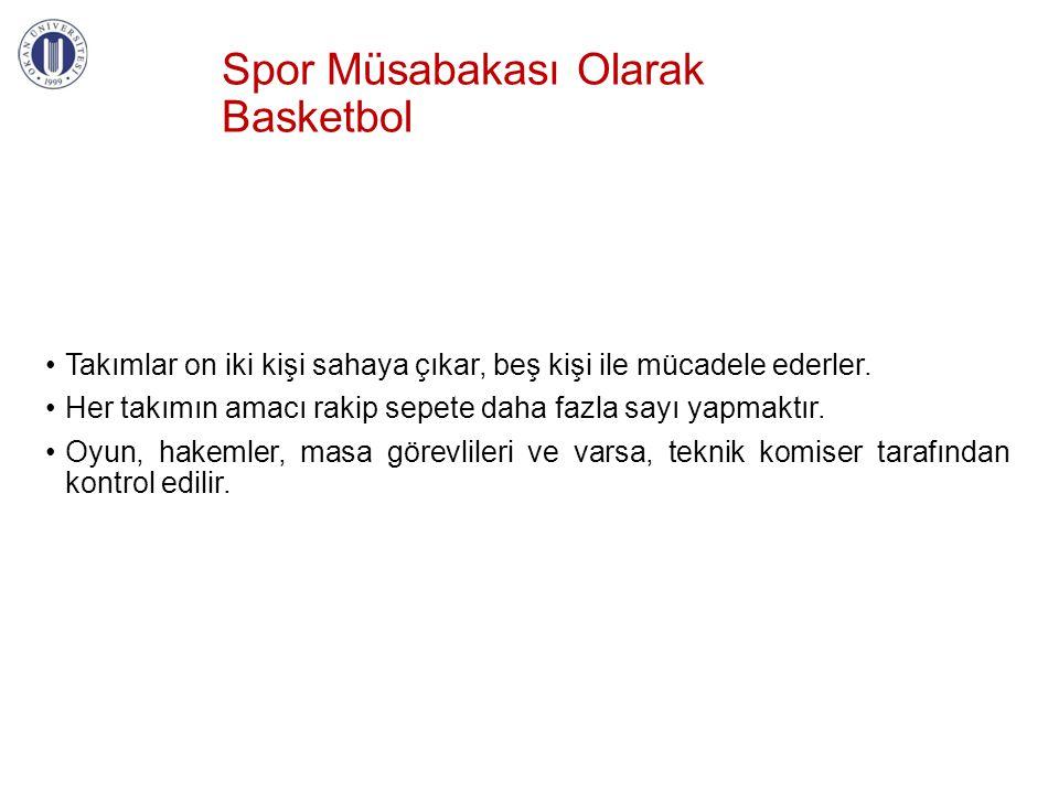 Spor Müsabakası Olarak Basketbol