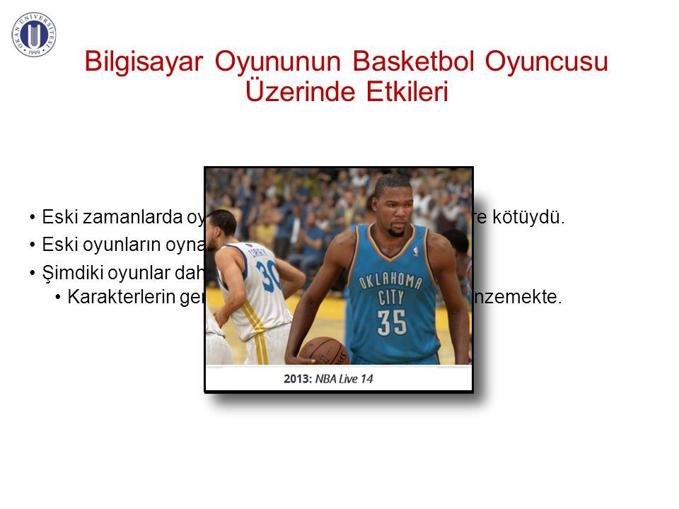Bilgisayar Oyununun Basketbol Oyuncusu Üzerinde Etkileri