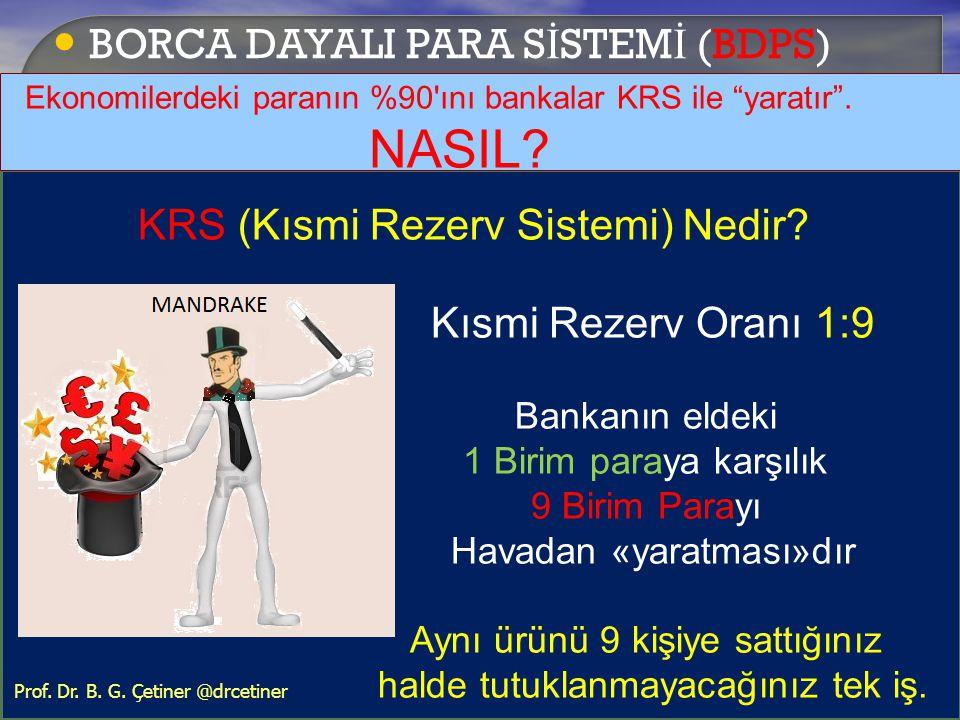 BORCA DAYALI PARA SİSTEMİ (BDPS)