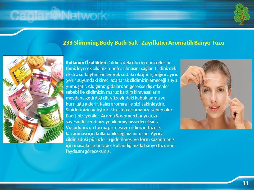 233 Slimming Body Bath Salt- Zayıflatıcı Aromatik Banyo Tuzu