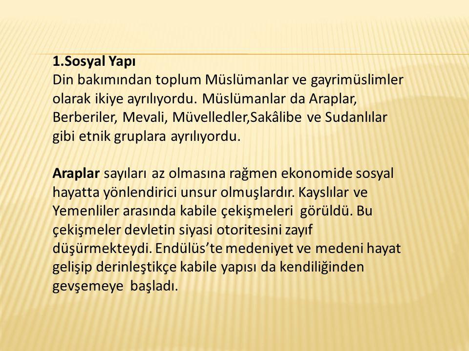 1.Sosyal Yapı