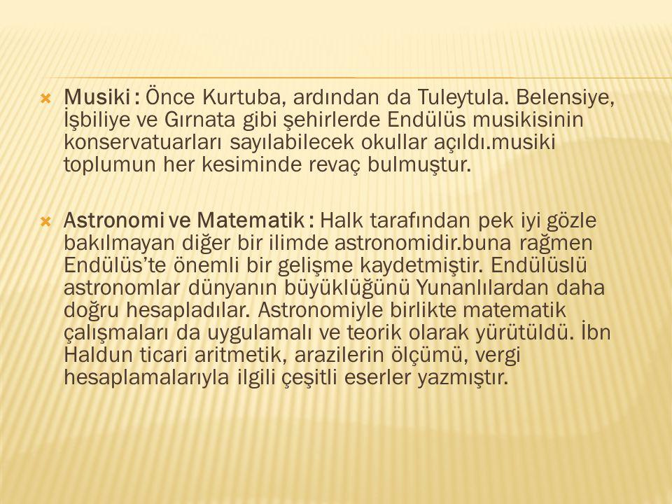 Musiki : Önce Kurtuba, ardından da Tuleytula