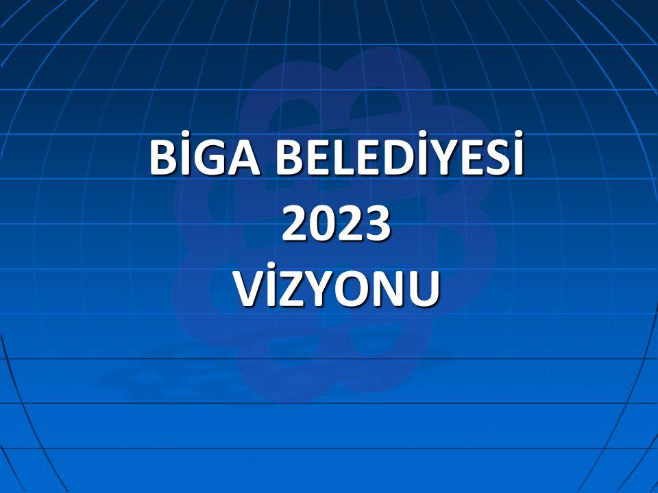 BİGA BELEDİYESİ 2023 VİZYONU