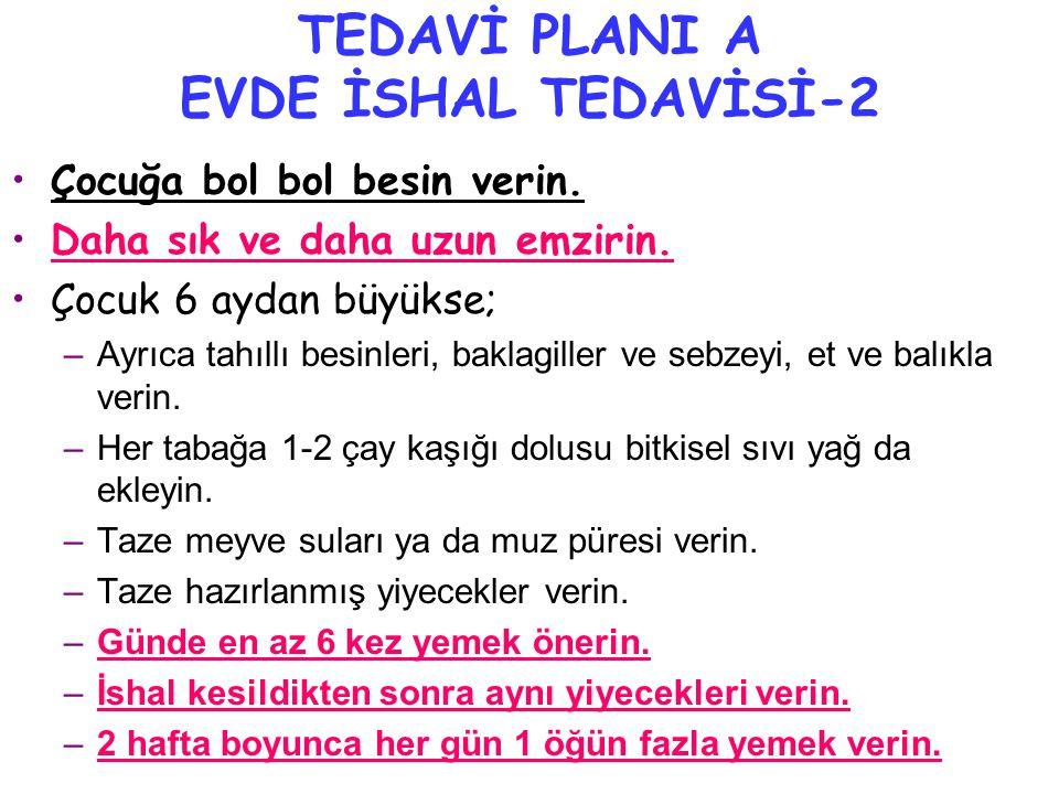 TEDAVİ PLANI A EVDE İSHAL TEDAVİSİ-2