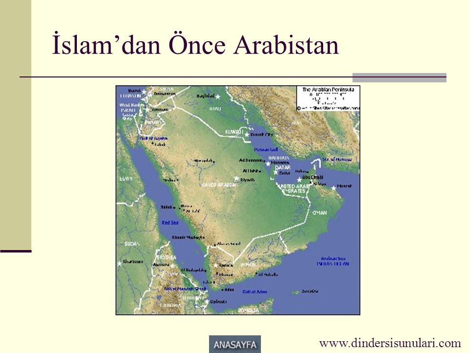 İslam'dan Önce Arabistan