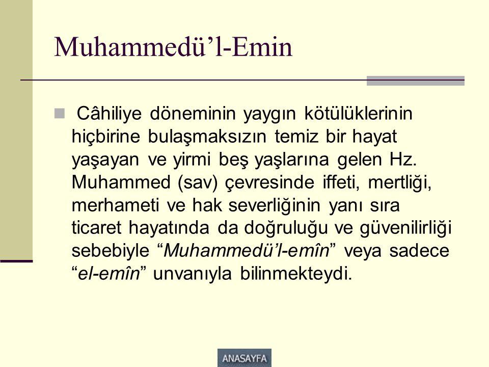 Muhammedü'l-Emin