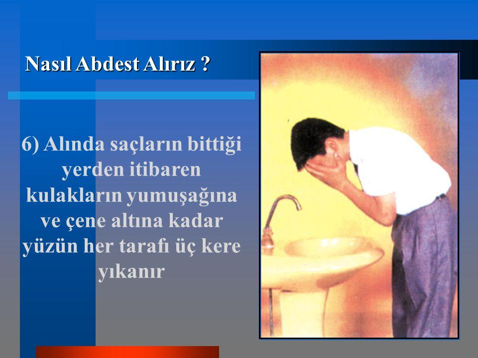 Nasıl Abdest Alırız .