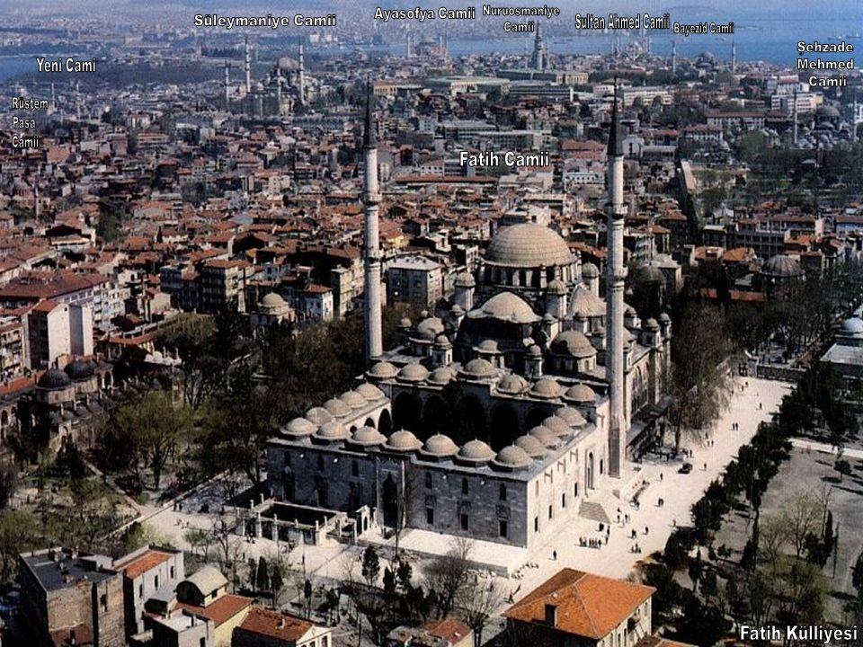 Fatih Külliyesi Ayasofya Camii Nuruosmaniye Süleymaniye Camii