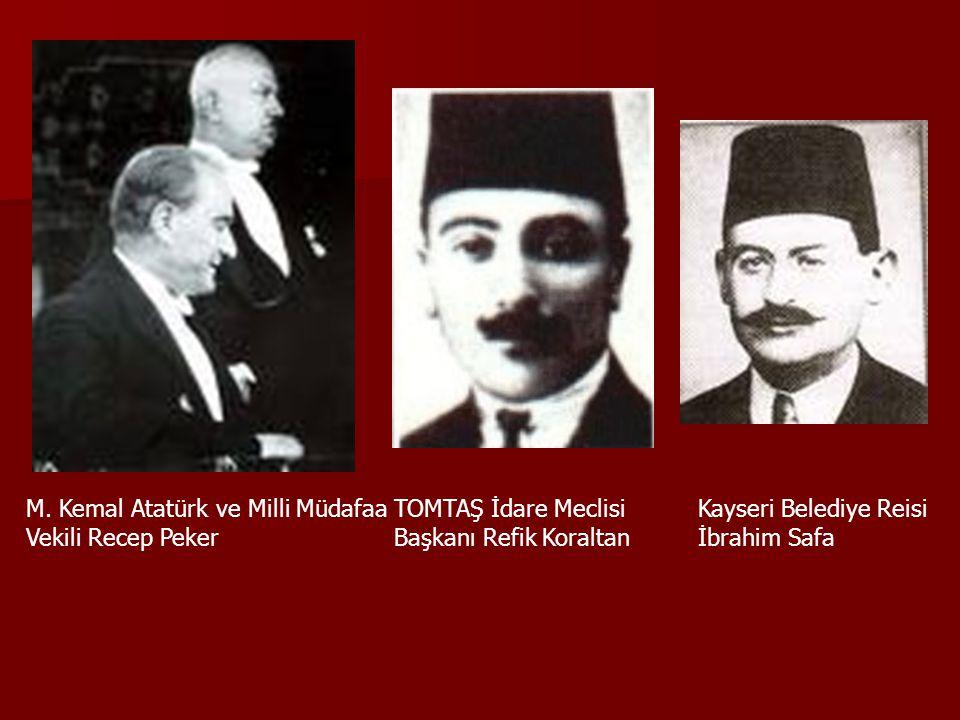 M. Kemal Atatürk ve Milli Müdafaa