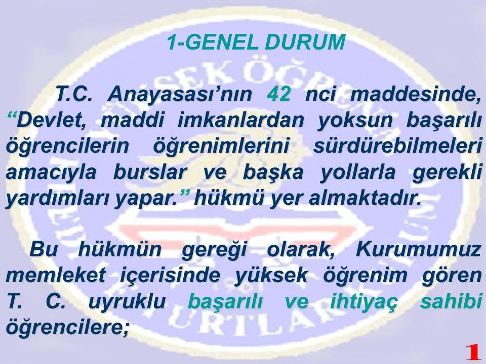1-GENEL DURUM