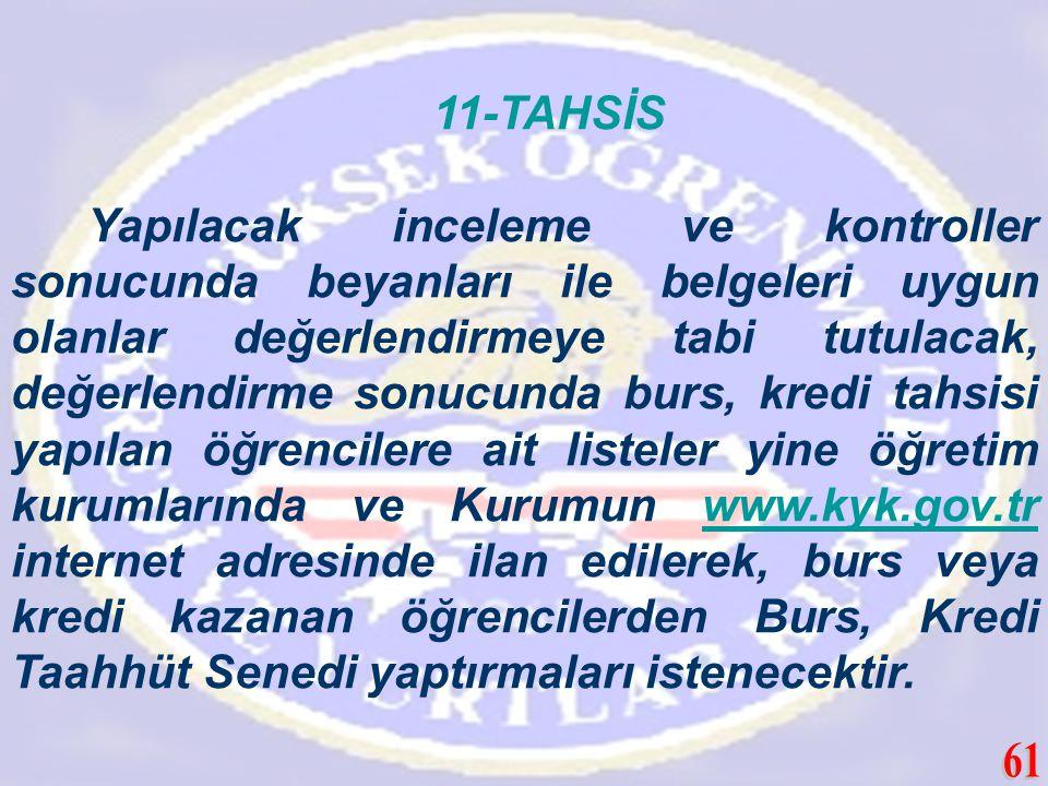 11-TAHSİS