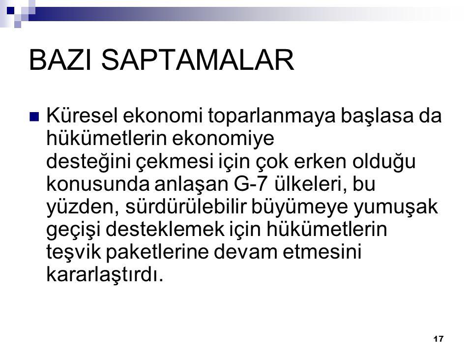 BAZI SAPTAMALAR