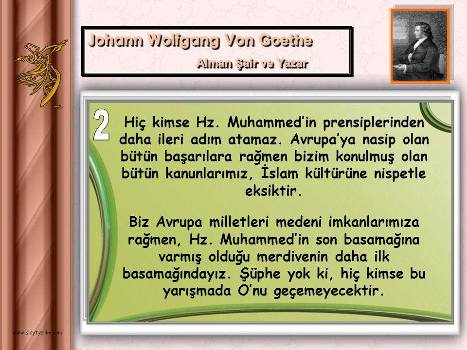 2 Johann Wolfgang Von Goethe