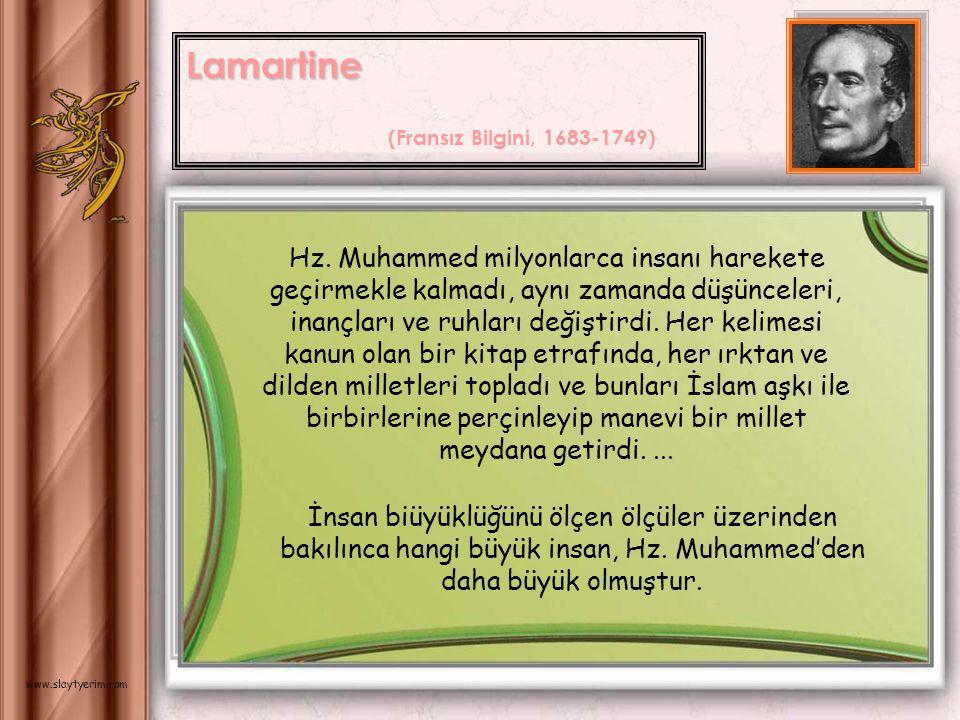 Lamartine (Fransız Bilgini, 1683-1749)