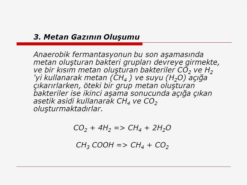 3. Metan Gazının Oluşumu