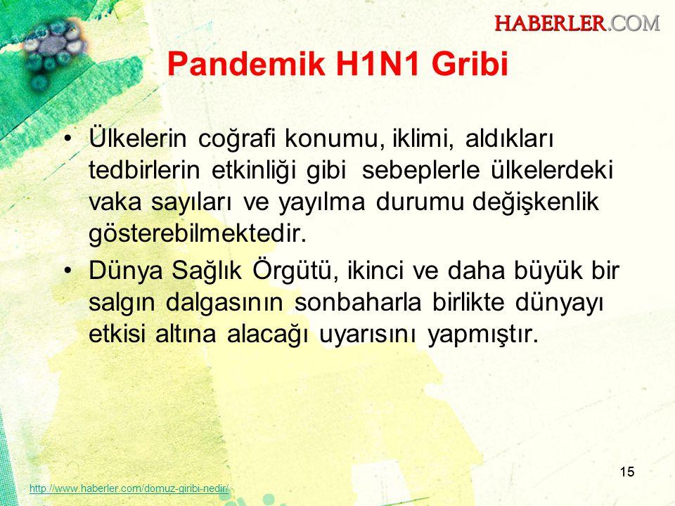 Pandemik H1N1 Gribi