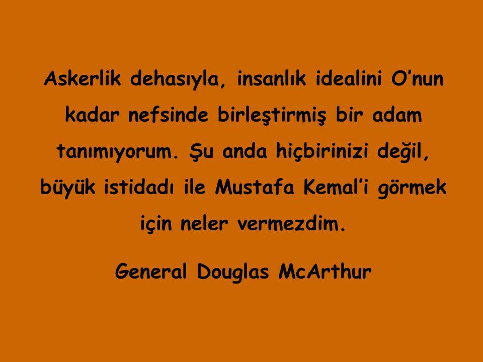 General Douglas McArthur