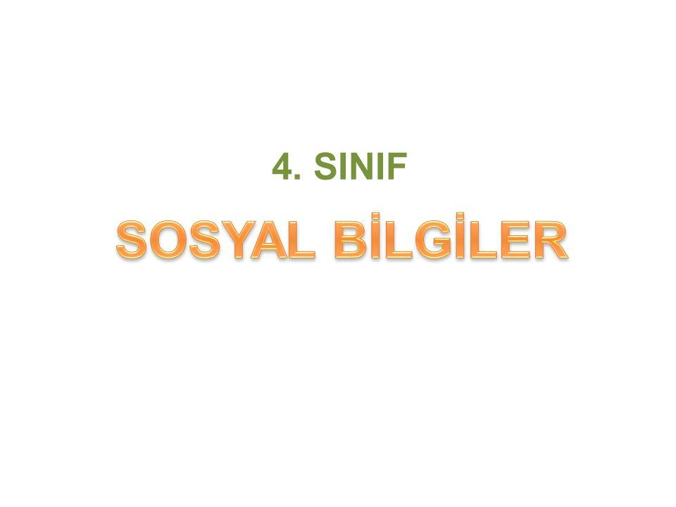 4. SINIF SOSYAL BİLGİLER