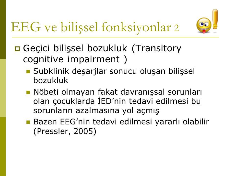 EEG ve bilişsel fonksiyonlar 2