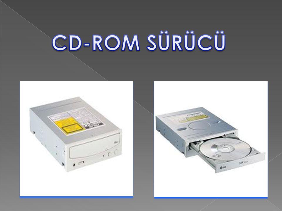CD-ROM SÜRÜCÜ
