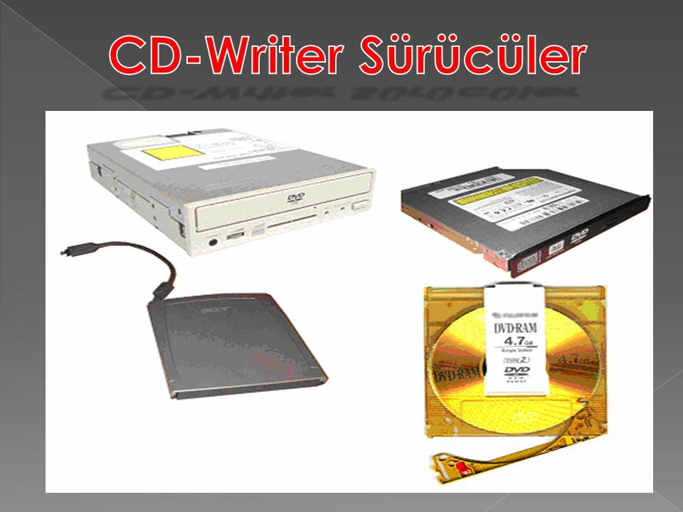 CD-Writer Sürücüler