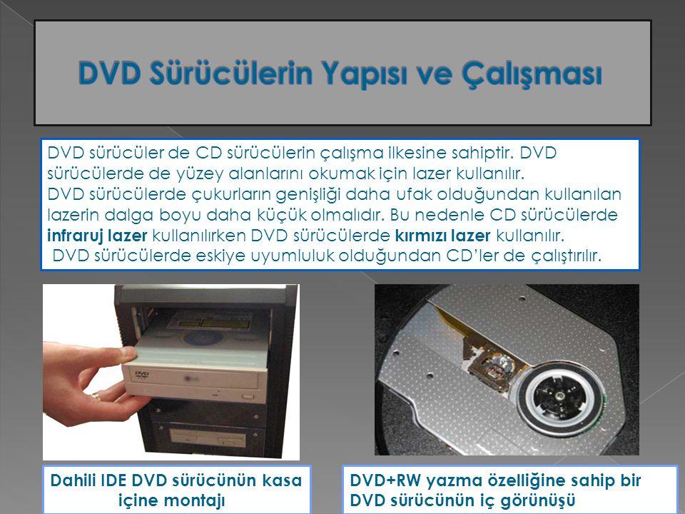 DVD Sürücülerin Yapısı ve Çalışması
