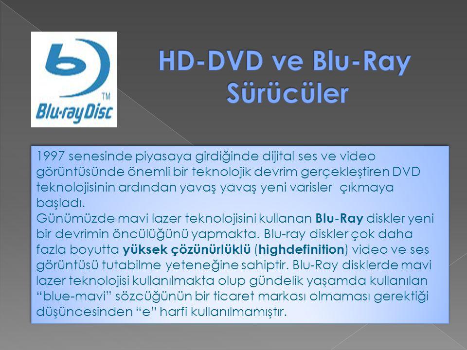 HD-DVD ve Blu-Ray Sürücüler