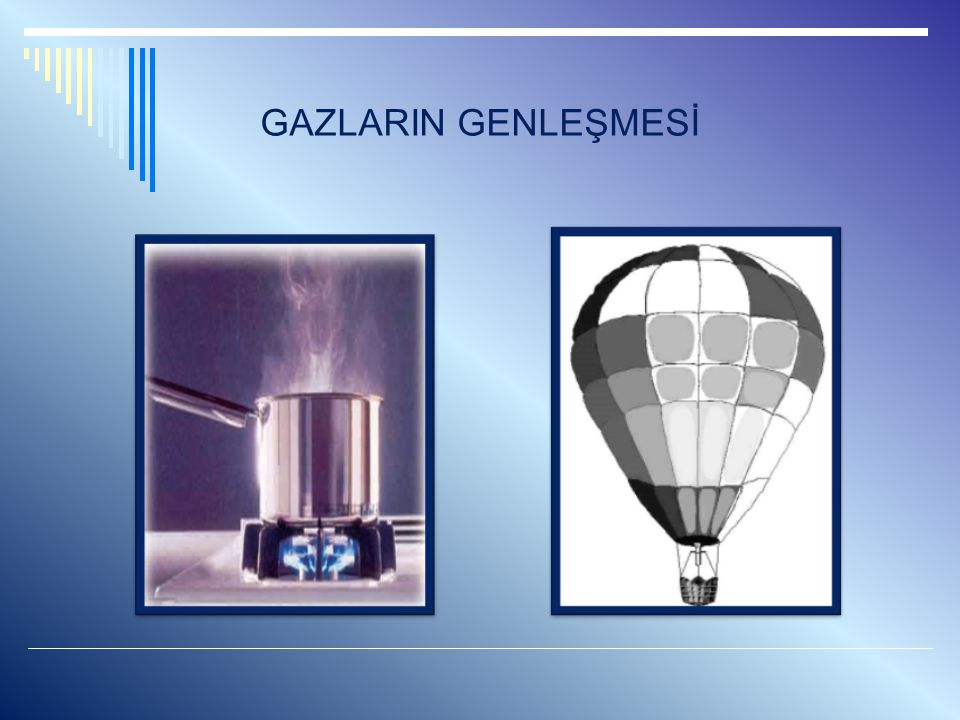 GAZLARIN GENLEŞMESİ