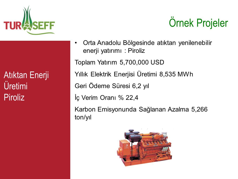 Örnek Projeler C Atıktan Enerji Üretimi Piroliz