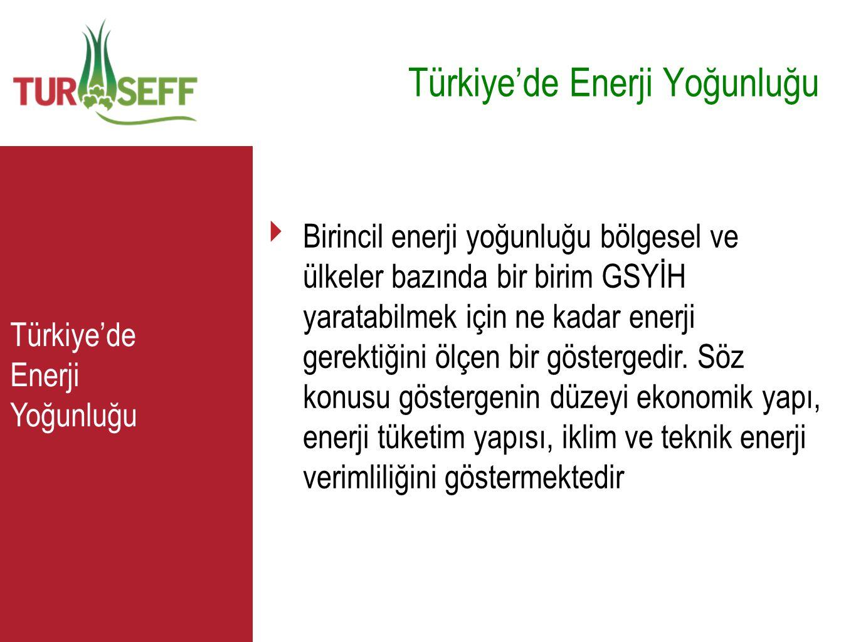 Türkiye'de Enerji Yoğunluğu