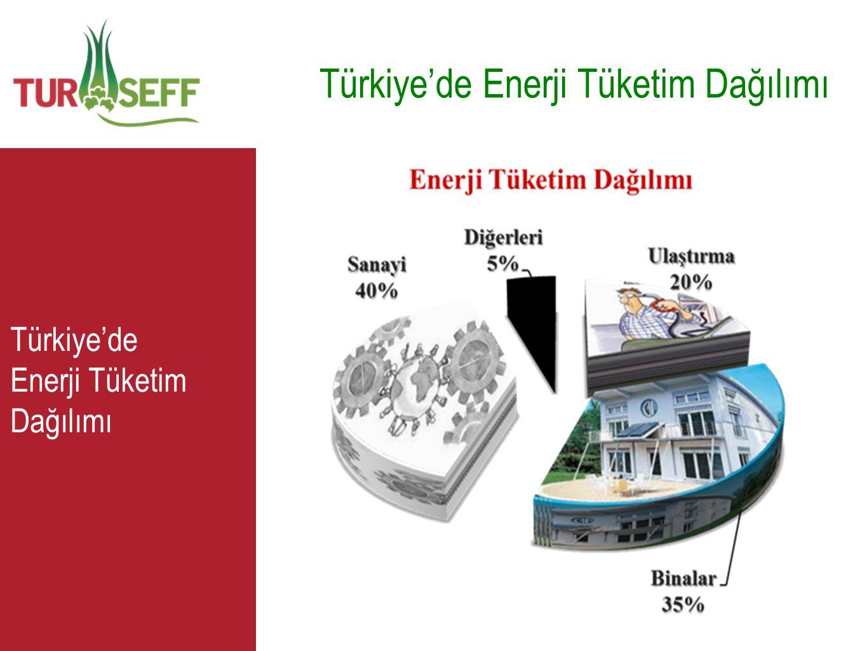 Türkiye'de Enerji Tüketim Dağılımı