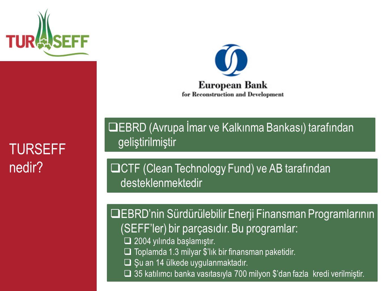 EBRD (Avrupa İmar ve Kalkınma Bankası) tarafından geliştirilmiştir