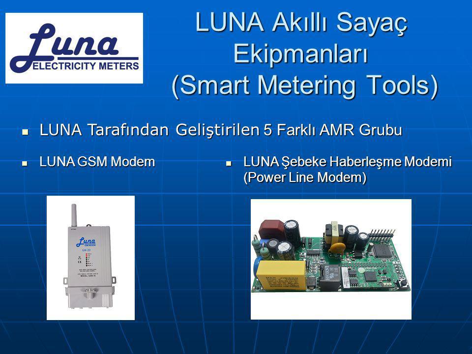 LUNA Akıllı Sayaç Ekipmanları (Smart Metering Tools)
